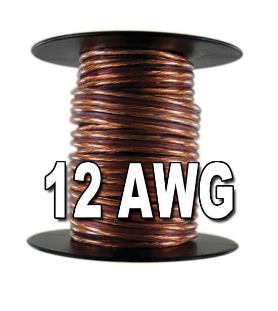 12 awg 2 way speaker wire. Black Bedroom Furniture Sets. Home Design Ideas