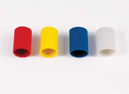 3  16 U0026quot  Rainbow Color Code Heat Shrink Markers  Qty 50