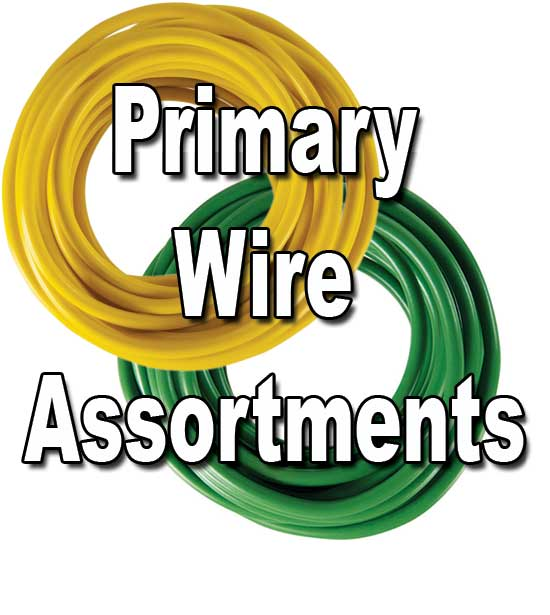 Automotive Primary Wire, Color ortments - SALE! on