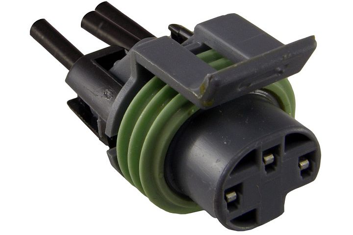 JT&T (2823F) 3-Wire GM Oil Pressure Sensor Connector Pigtail, 1987 & Newer,  1 Pc