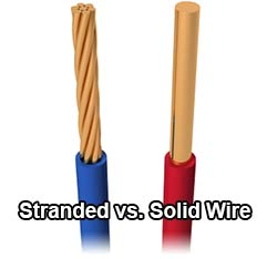 What is wire gauge one thing gauge doesnt address is stranding the gauge is based on what the wire thickness would be if comprised of one solid strand stranded wire offers greentooth Images