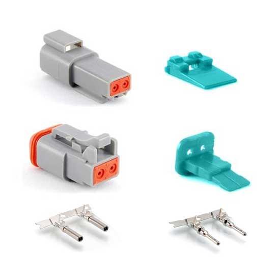 Flex Seal Tape Reviews >> 2 Wire Deutsch style Amphenol AT Connectors