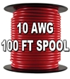 Automotive Primary Wire, 10 AWG, 100ft Spool