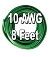 Automotive Primary Wire, 10 AWG, 8 Ft. Cut