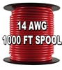 Automotive Primary Wire, 14 AWG, 1,000 Ft. Spool