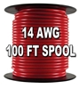 Automotive Primary Wire, 14 AWG, 100 Ft. Spool