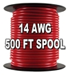 Automotive Primary Wire, 14 AWG, 500 Ft. Spool