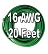 Automotive Primary Wire, 16 AWG, 20 Ft. Cut