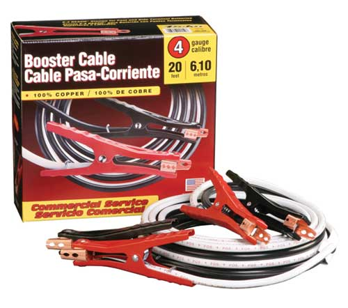 Commercial Service Booster Cables,