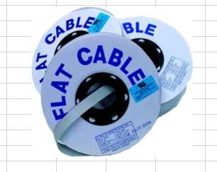 Flat Ribbon Cable - 100' Rolls Flat Ribbon Cable by the 100' Roll