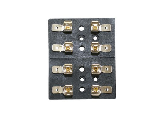 4 Position - Glass Fuse Block