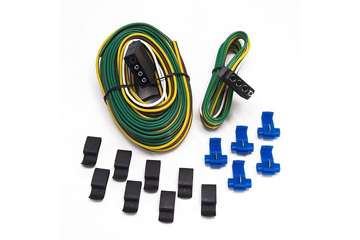 5-Way to 4-Way Wishbone Trailer Harness Kit.