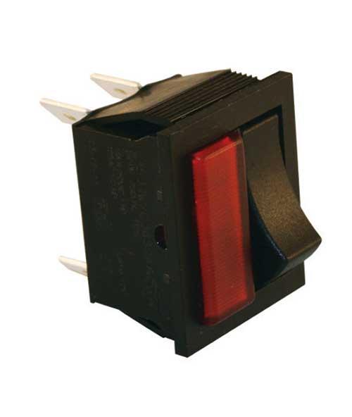 jt t 2604f 16 amp 12 volt s p s t light rocker. Black Bedroom Furniture Sets. Home Design Ideas