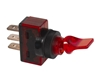 JT&T (2622J) - 20 AMP @ 12 Volt S.P.S.T. Illuminated On/Off Duckbill Switch, Red, 1 Pc.