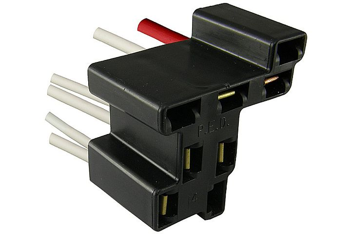 6-Wire GM Headlight Switch Connector