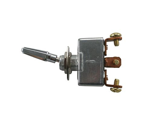 Heavy-Duty (All-Metal) Toggle Switch  (S.P.D.T. 12 Volt)