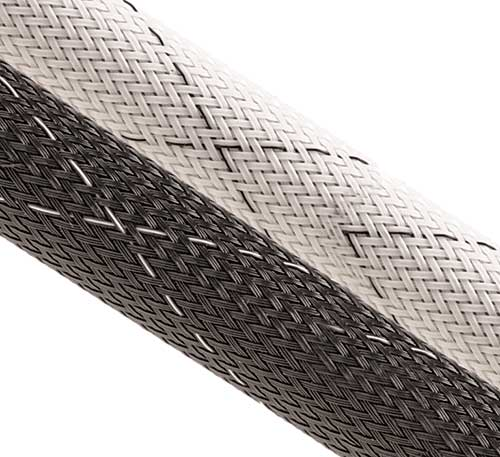 expandable sleeving, flame retardant, wire loom, tubing,