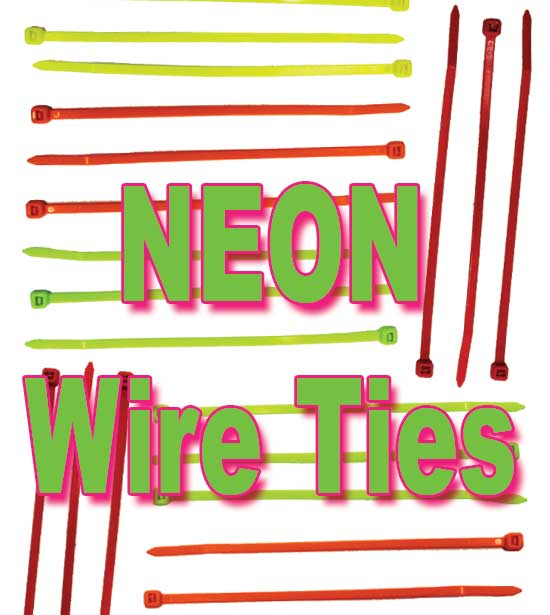 a3ac5631e47a Cable Ties-Nylon Neon Other names Wire Ties • Zip Ties • Quick Ties •