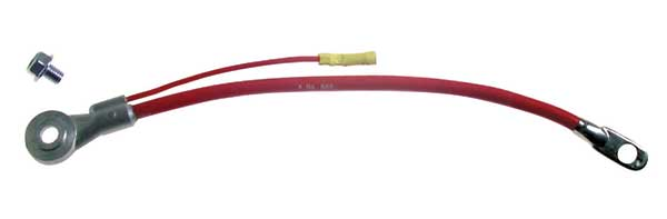 Side Terminal Battery Cable, 4 AWG, w/1 lead
