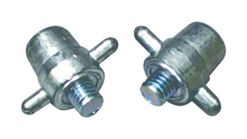 "3/8"" Threaded Stud Charging Posts with Ears"
