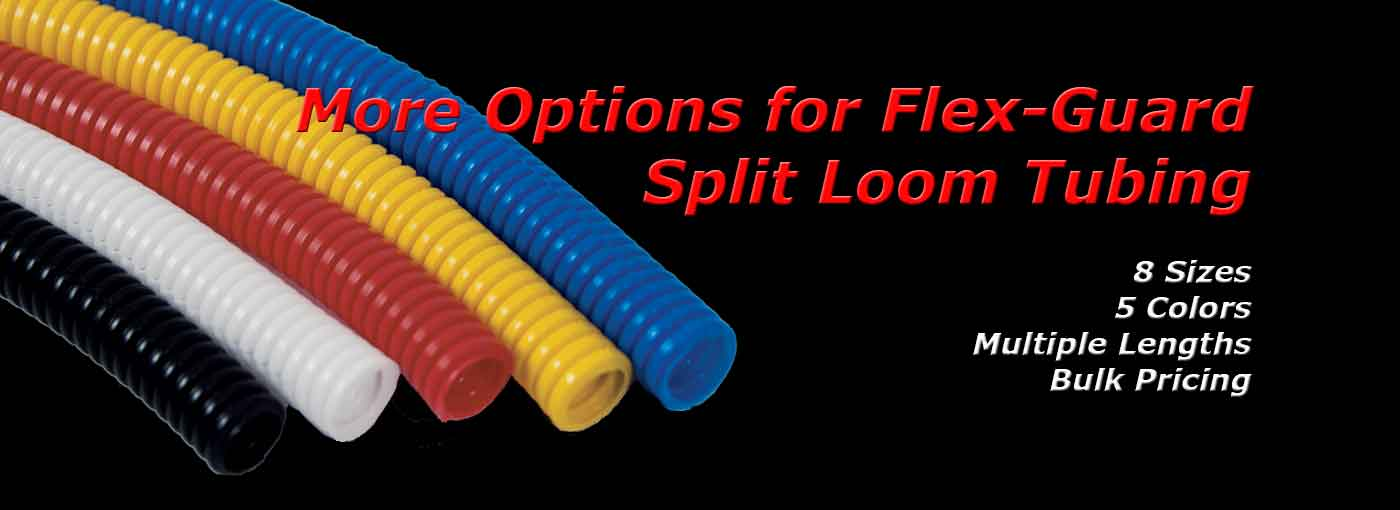 Flex-Guard Split Loom Wire Tubing