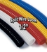 "1/2"" Diameter Split Wire Loom Flex-Guard Convoluted Tubing"