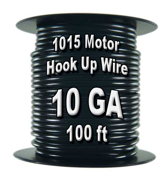 1015 Motor Wire, 10 AWG, 100 Ft. Spool