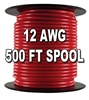 Automotive Primary Wire, 12 AWG, 500 Ft. Spool