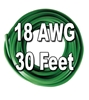 Automotive Primary Wire, 18 AWG, 30 Ft. Cut
