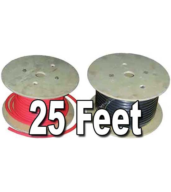 Battery Cable, 25ft. Spools