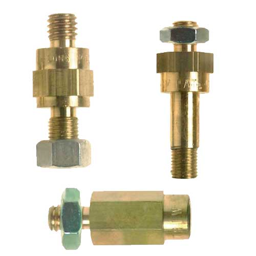 Brass Battery Bolt Extenders Brass Battery Bolt Extenders