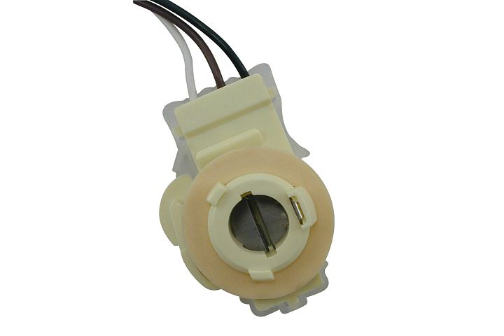 3-Wire GM, Chrysler & AMC 90° Double Contact Back-Up, Stop, Tail & Turn Light Socket.