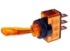 JT&T (2617J) - 20 AMP @ 12 Volt S.P.S.T. Illuminated On/Off Toggle Switch, Amber, 1 Pc.
