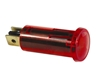 JT&T (2632H) - 16 AMP @ 12 Volt Red Warning Light with Two Lucar Terminals, 1 Pc.