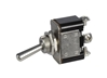 2643F - 25 AMP @ 12 Volt S.P.D.T. Heavy Duty On/ON Marine Toggle Switch with Three Screw Terminals, 1 Pc.
