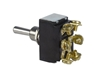 JT&T (2648F) - 30 AMP @ 12 Volt D.P.D.T. Heavy Duty 2-Way Momentary On/Off/Momentary On Toggle Switch with 6 Screw Terminals, 1 Pc.