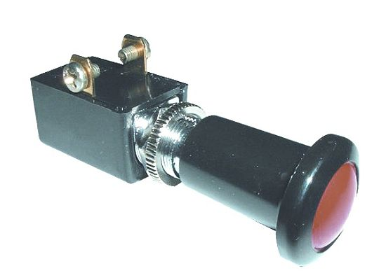 Illuminated Push-Pull Switch (S.P.S.T. 15A @ 12 Volt)