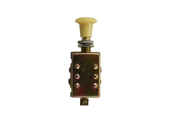 Universal Heavy Duty Off/On/On Fused Push-Pull Switch