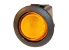 JT&T (2700-4J) - 16 AMP @ 12 Volt Illuminated On/Off Round Rocker Switch, Amber, 1 Pc.