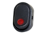 JT&T (2702-2J) - 16 AMP @ 12 Volt Illuminated On/Off Oval Rocker Switch, Red, 1 Pc.