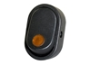 JT&T (2702-4J) - 16 AMP @ 12 Volt, Illuminated On/Off Oval Rocker Switch, Amber, 1 Pc.