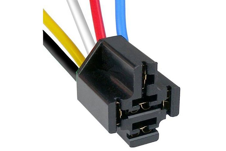 5-Wire GM Universal Application Heavy-Duty Flasher & Relay Connector.
