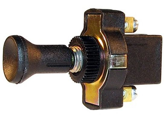 Euro Style Push-Pull Switch (12 Volt)
