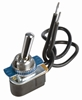 JT&T (2941F) - 15 AMP @ 12 Volt S.P.S.T. On/Off Toggle Switch with Intergrated Wire Leads, 1 Pc.