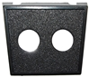 "JT&T (2950F) - Switch Panel Mount with (2) 1/2"" Round Holes, 1 Pc."