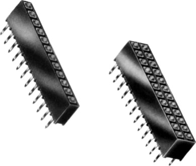 PCB HEADER  SOCKET STRIP (Square Pin) PCB HEADER VERTICAL SOCKET STRIP (Square Pin)