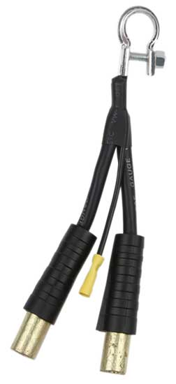 "5/16"" 1 lb Black 1 Quick Connect Battery Cables"