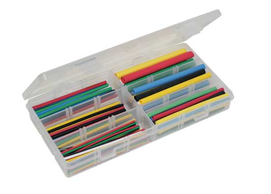 Deluxe Rainbow Heat Shrink Kit - 161 Pcs.