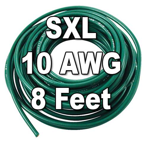 SXL Cross-Linked Wire, 10 AWG, 8 Ft Cut SXL Cross-Linked Wire, 10 AWG, 8 Ft Cut