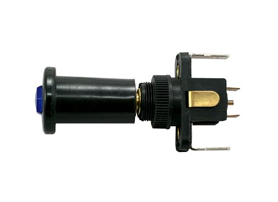15 AMP @ 12 Volt S.P.S.T. Illuminated Push-Pull Switches 15 AMP @ 12 Volt S.P.S.T. Illuminated Push-Pull Switches